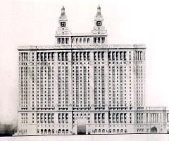Manhattan Municipal Building by Hoppin and Koen