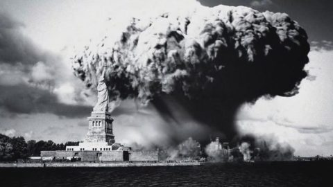 New York nuclear explosion
