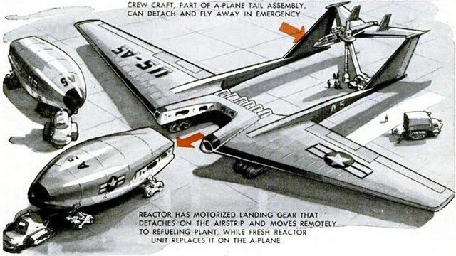 Northrop nuclear bomber design