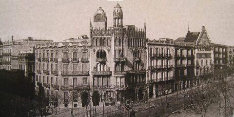 Passeig de Gràcia Barcelona Spain