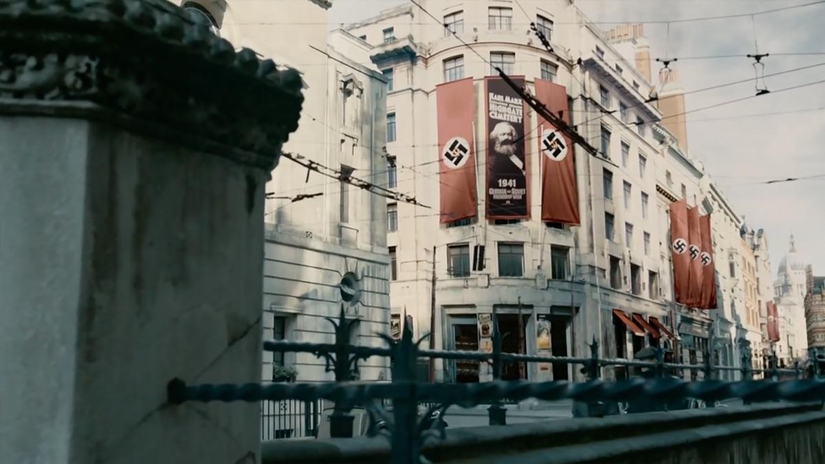 SS-GB scene
