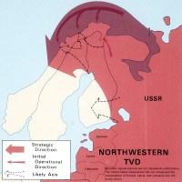 Soviet invasion of Scandinavia map