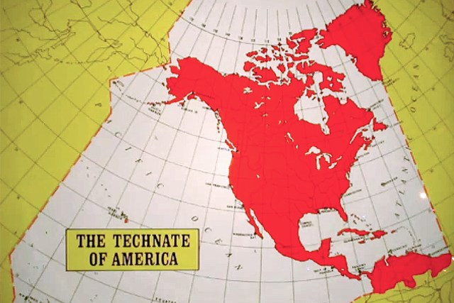 Technate of America map