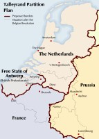 Belgium partition map