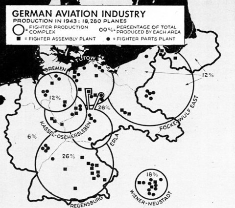 Germany aviation industry map