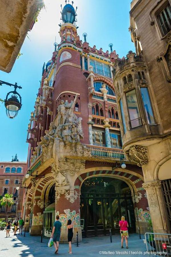 Palau de la Música Catalana Barcelona Spain