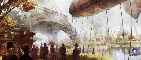 Assassin's Creed Unity concept art