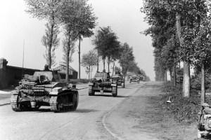 German tanks
