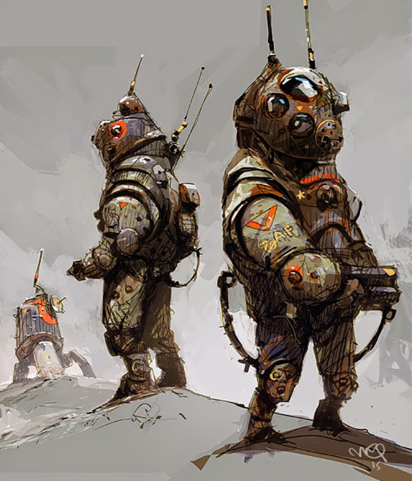 Ian McQue artwork