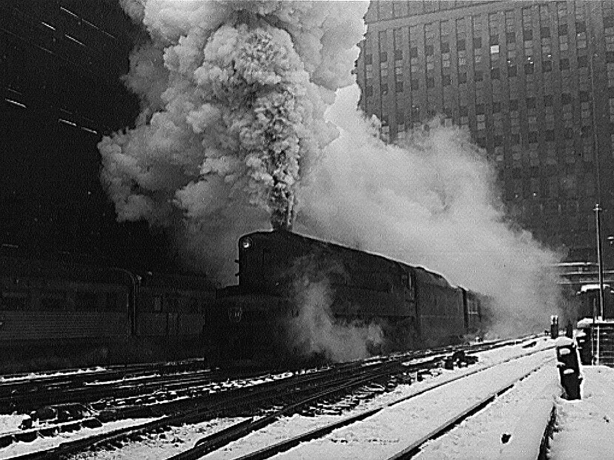 Pennsylvania Railroad T1 train