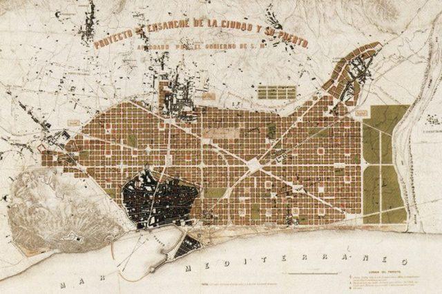 Plan Cerdá Barcelona
