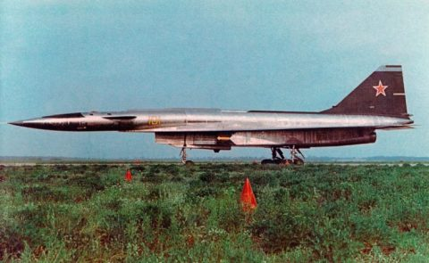 Sukhoi T-4 bomber