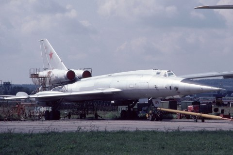 Tupolev Tu-22 supersonic bomber