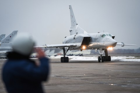 Tupolev Tu-22M supersonic bomber
