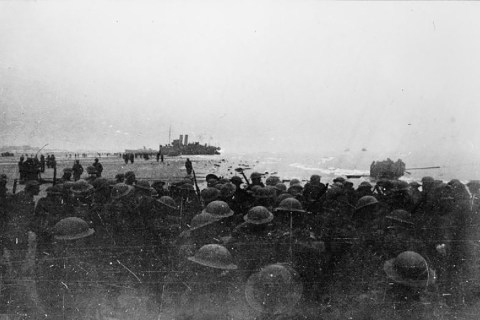 British soldiers Dunkirk