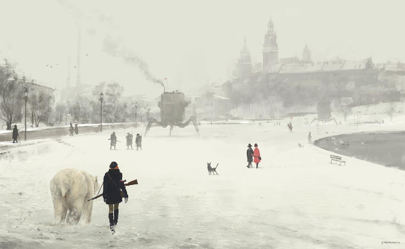 Jakub Rozalski artwork
