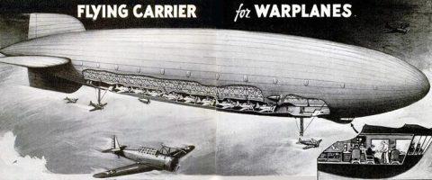 Flying carrier cutaway