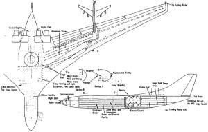 Lockheed CL-1201 schematic