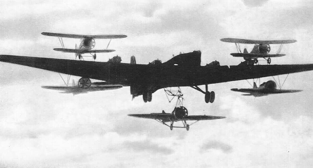 Tupolev TB-3 bomber