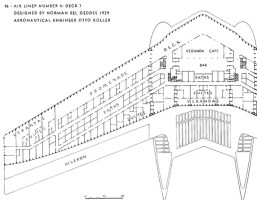 Airliner Number 4 deck plan