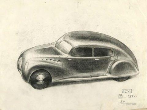 Norman Bel Geddes Chrysler design