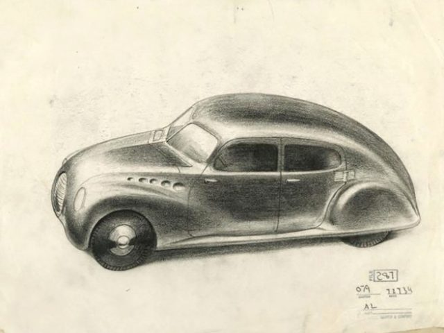 Norman Bel Geddes Chrysler design