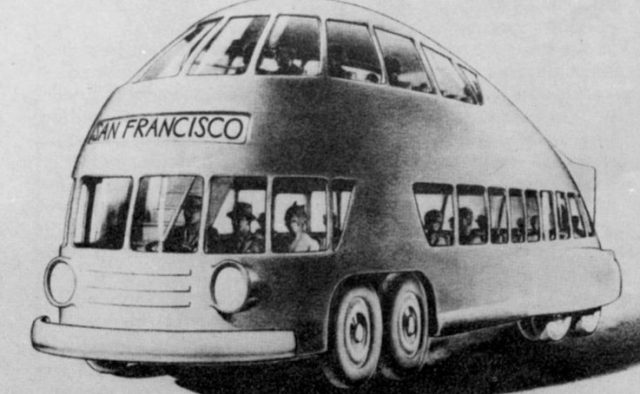 Norman Bel Geddes bus design