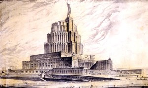 Palace of the Soviets Moscow Russia design