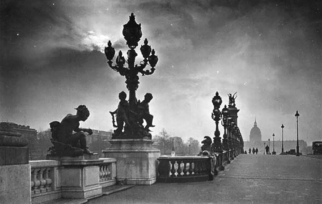 Pont Alexandre III Paris France