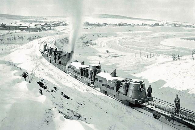Siberia Russia train