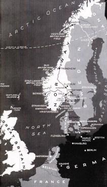1940 Northwest Europe map