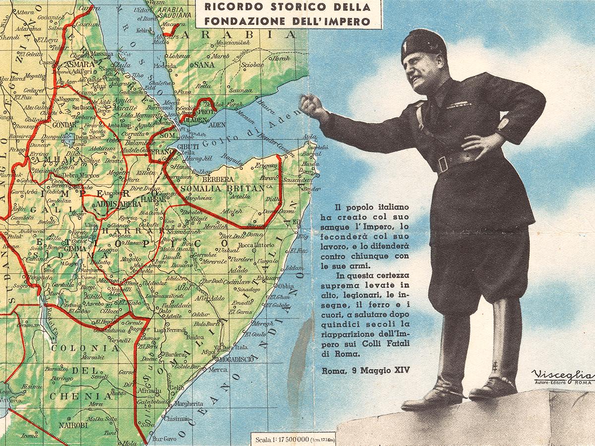 Italian East Africa map