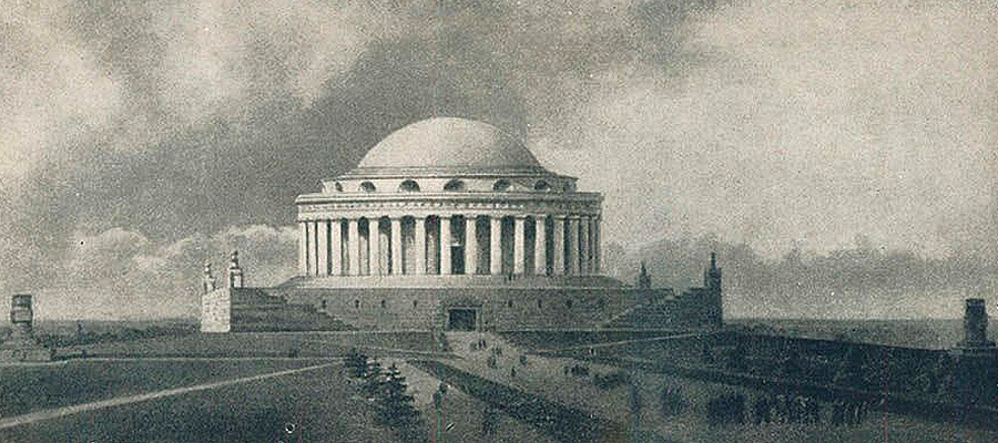 Moscow Pantheon design