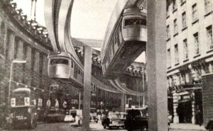 Regent Street Monorail London England