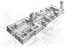 Senate House London England design