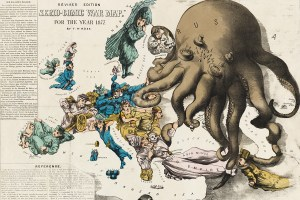 1877 Fred Rose Europe map