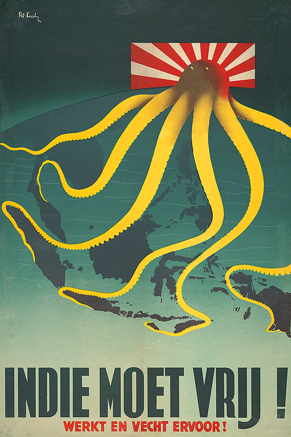 1944 Dutch Indies poster