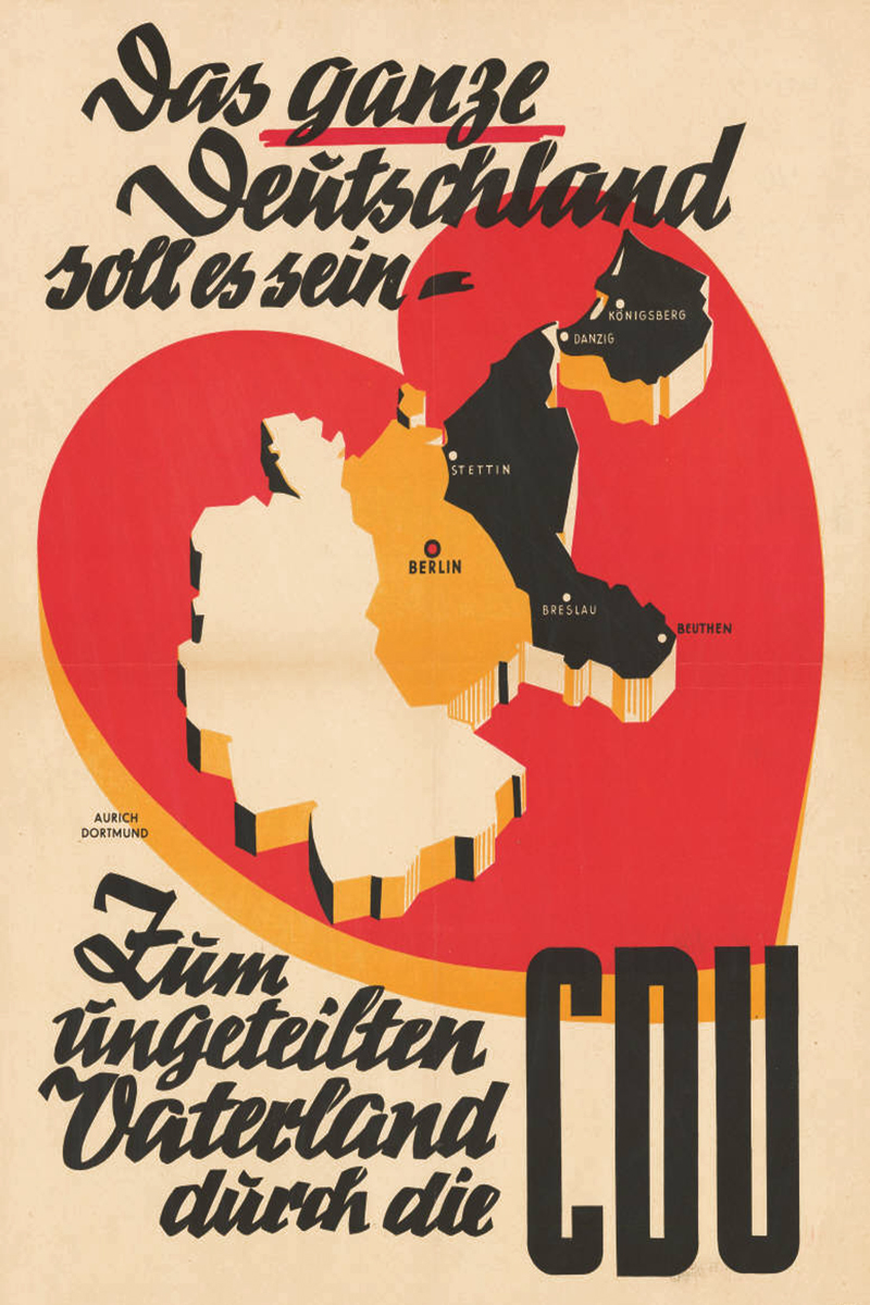 German CDU poster