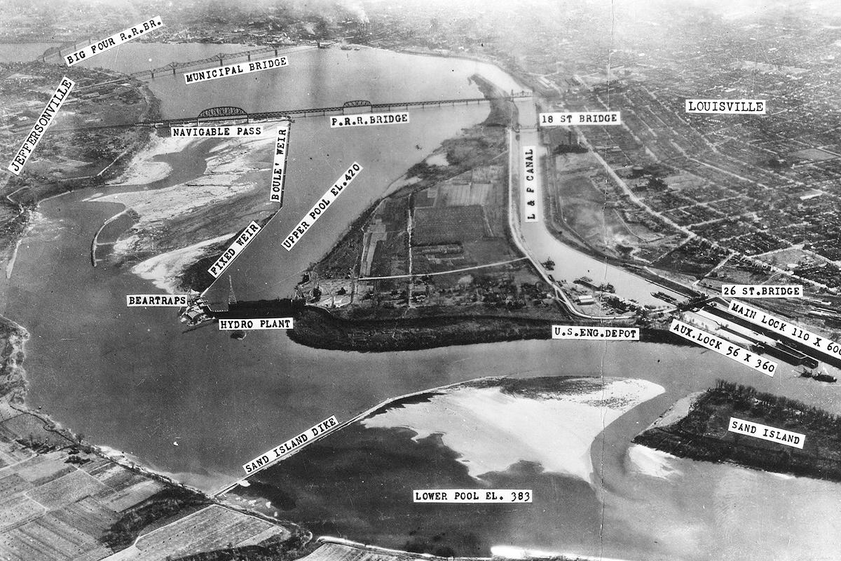 Louisville and Portland Canal Kentucky