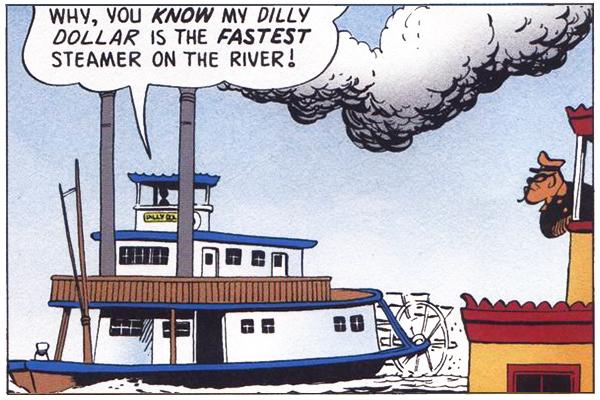 The Fantastic River Race panel