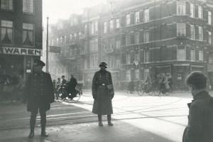 German soldiers Amsterdam Netherlands