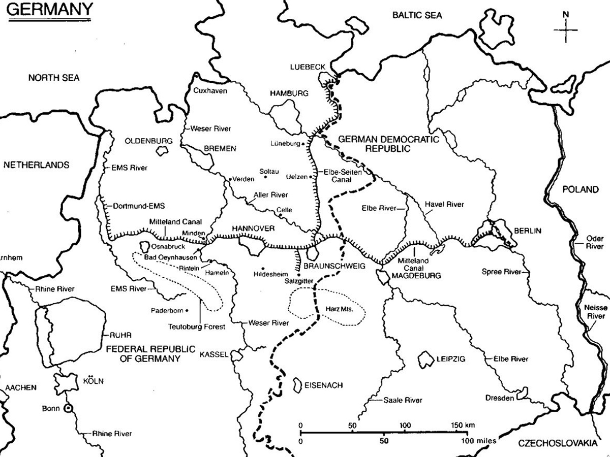 Red Army map