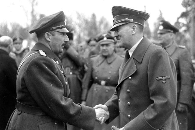 Boris III of Bulgaria Adolf Hitler