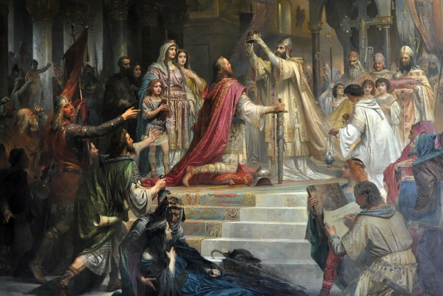 Coronation of Charlemagne