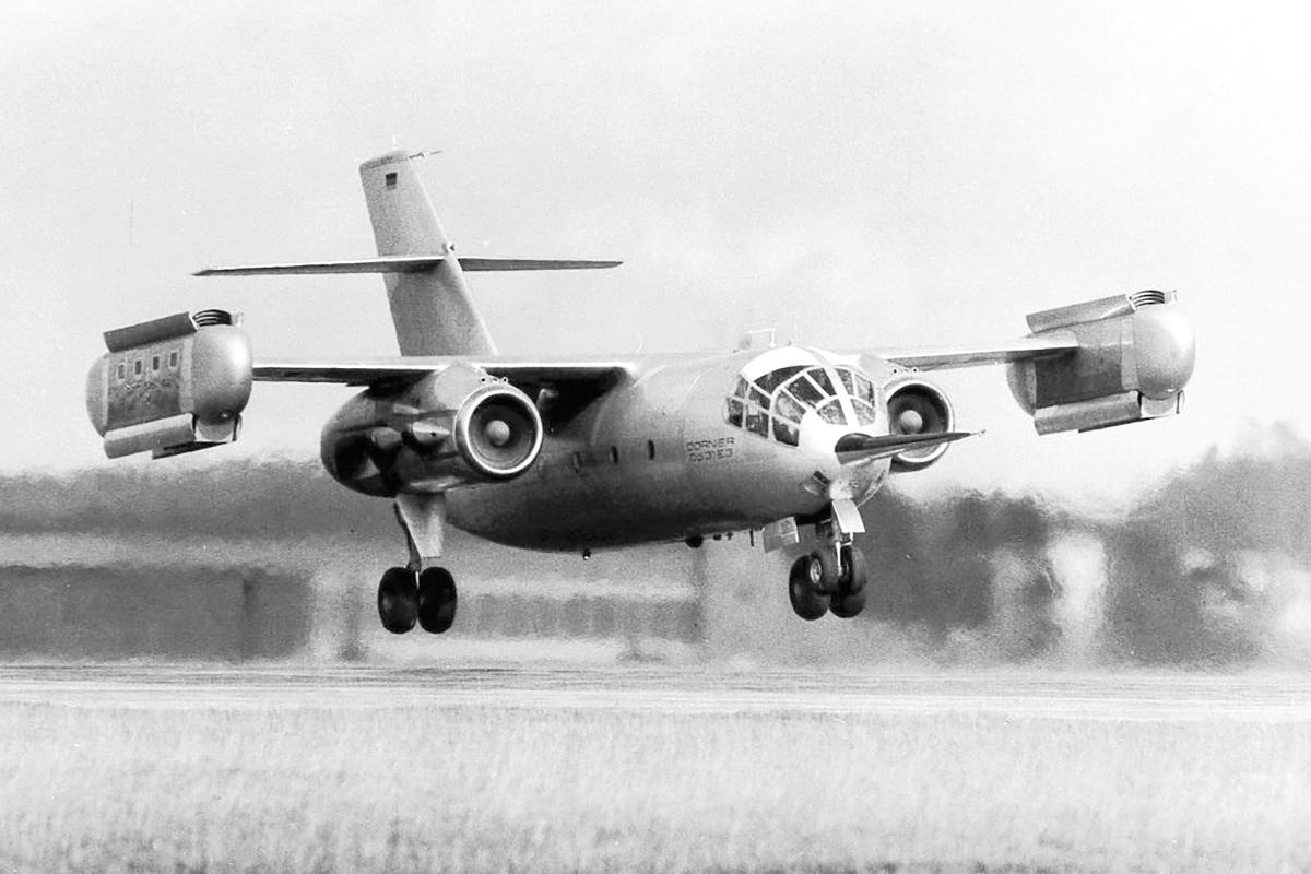 Dornier Do 31 transport aircraft