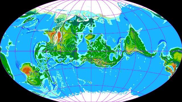 Jaredia map