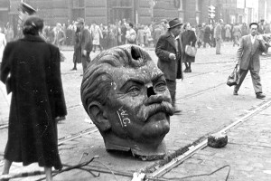 Joseph Stalin statue Budapest Hungary