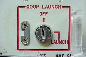 Nuclear silo launch key