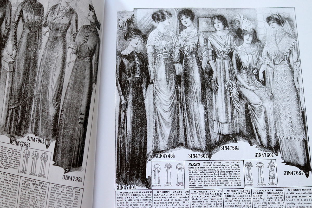 Everyday Fashions, 1909-1920, as Pictured in Sears Catalogs pages