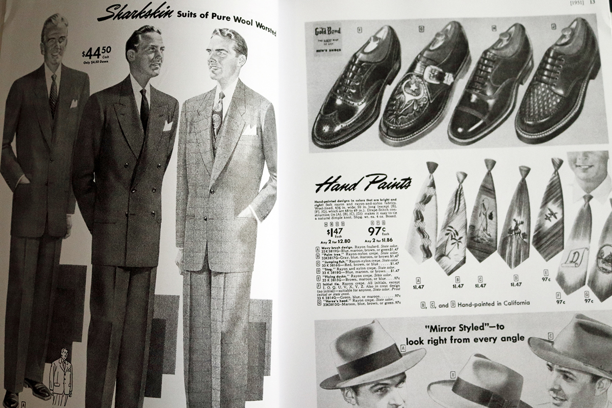 Everyday Fashions of the Fifties pages